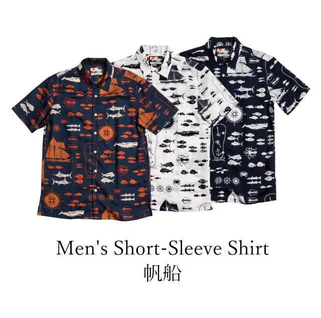 Men's  Short-Sleeve Shirt/帆船