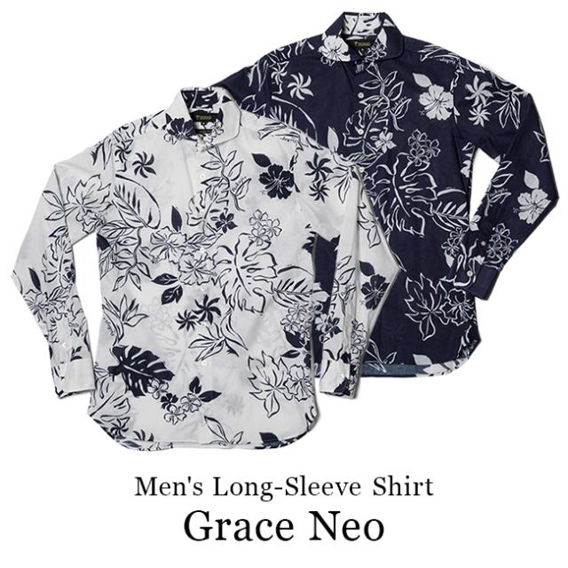 メンズ長袖シャツ/Grace Neo