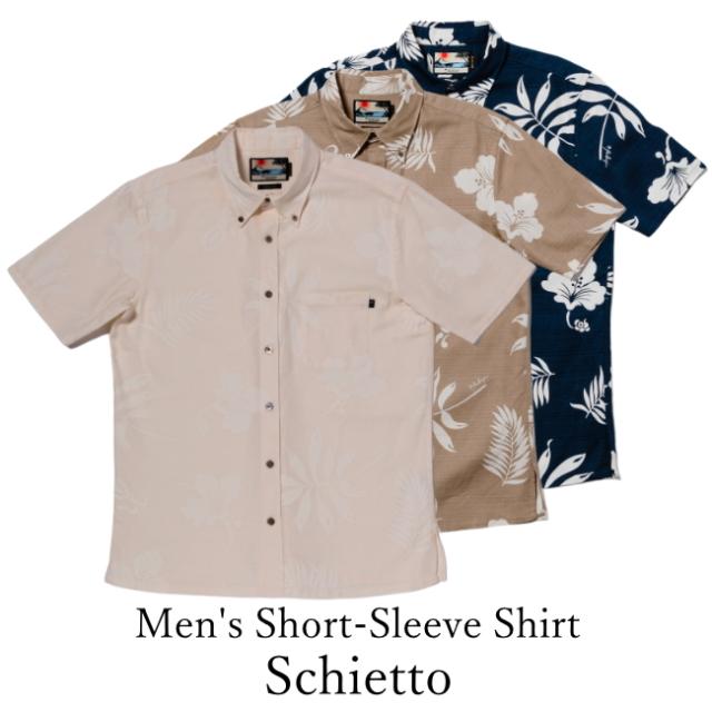 Men's Short-Sleeve Shirt/Schietto