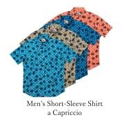 Men's Short-Sleeve Shirt/a Capriccio