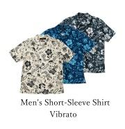 Men's Short-Sleeve Shirt/Vibrato