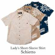 Lady's Short-Sleeve Shirt/Schietto