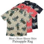Men's Short-Sleeve Shirt/Painapple Rag