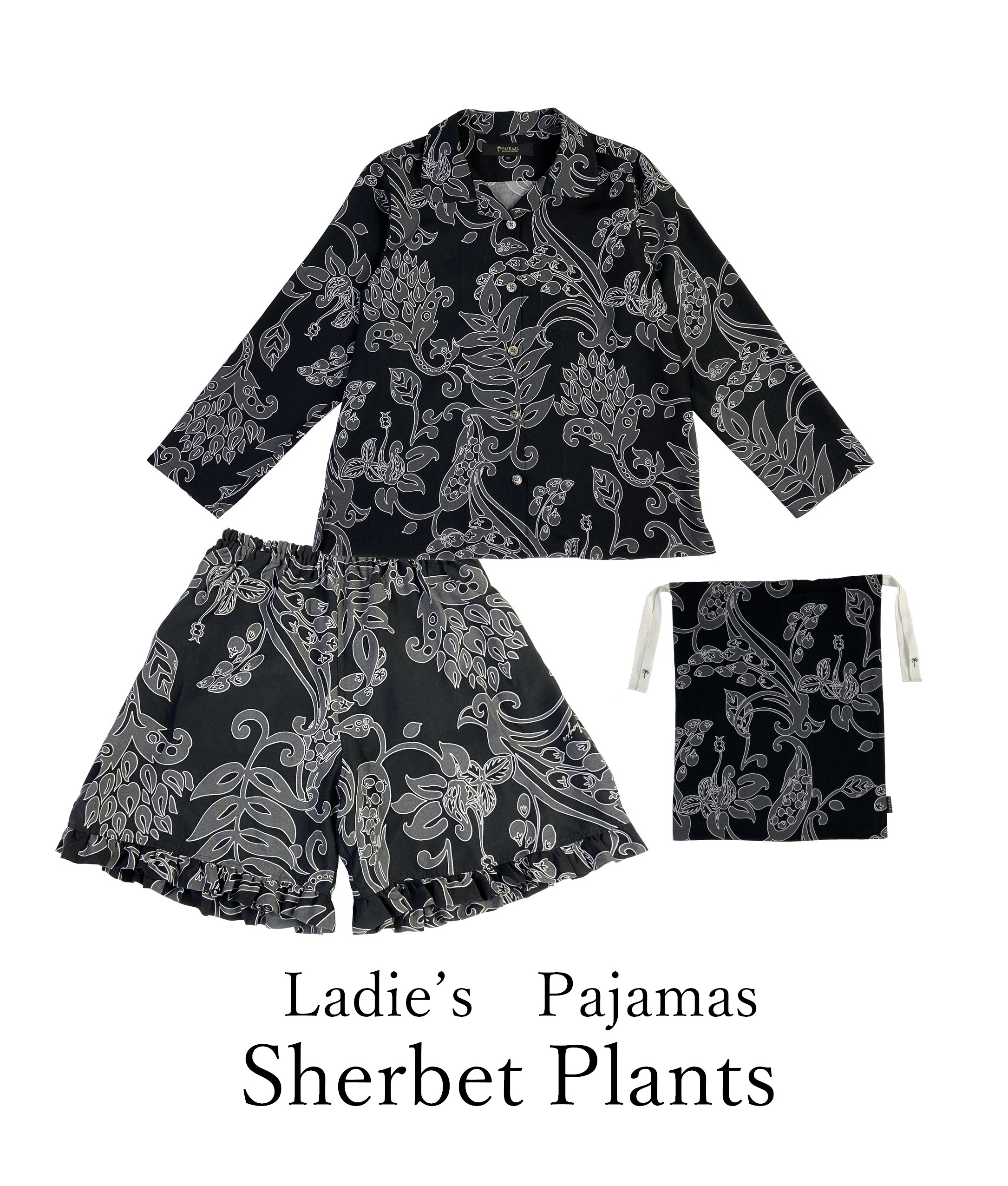 レディースパジャマ/Sherbet Plants