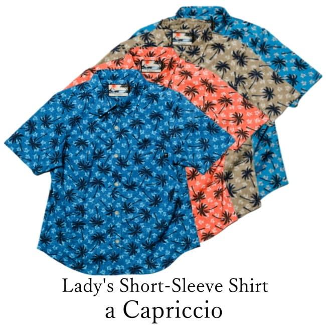 Lady's Short-Sleeve Shirt/a Capriccio