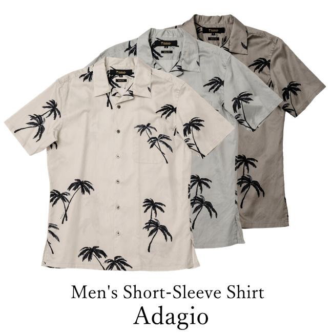 Men's Short-Sleeve Shirt/Adagio