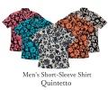 Men's Short-Sleeve Shirt/Quintetto