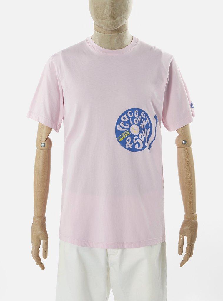 Universal Works ユニバーサルワークス Tシャツ 春夏用 ピンク
