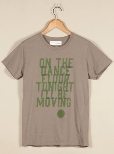 Universal Works ユニバーサルワークス プリント ティーシャツ セージ