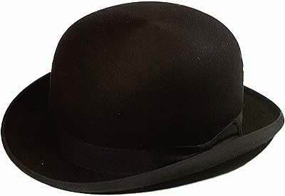 CHRISTYS' LONDON WOOL BOWLER HAT BLACK / クリスティーズ ロンドン ウール ボーラー ハット 帽子 ブラック