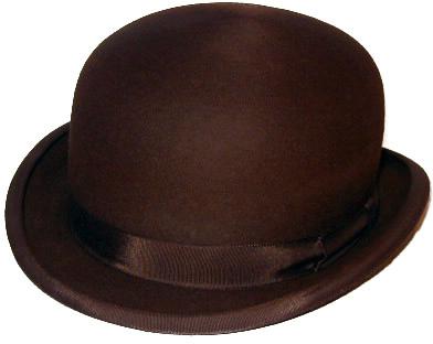 CHRUSTYS' LONDON WOOL BOWLER HAT BROWN / クリスティーズ ロンドン ウール ボーラー ハット 帽子 ブラウン