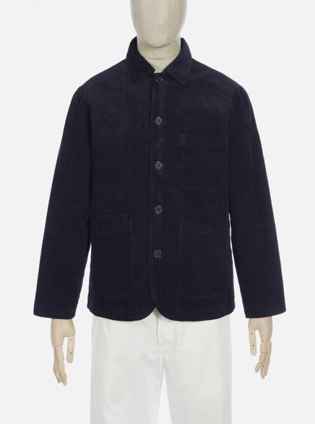 Universal Works ユニバーサルワークス Bakers Jacket In Navy Cord