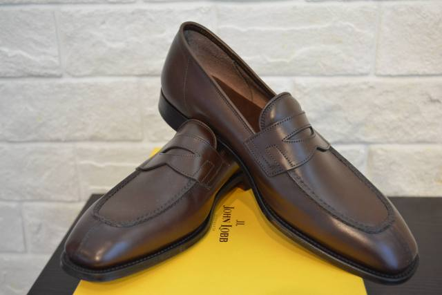 JOHN LOBB ASHLEY DARK OAK ANTQ