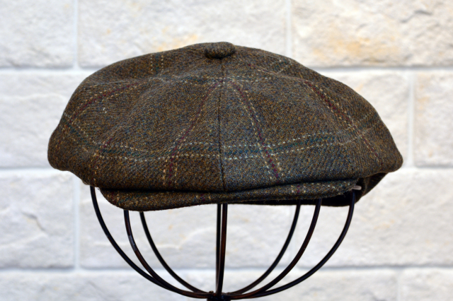 CHRISTYS' LONDON CASQUETTE GREEN/ クリスティーズ ロンドン キャスケット 帽子 グリーン