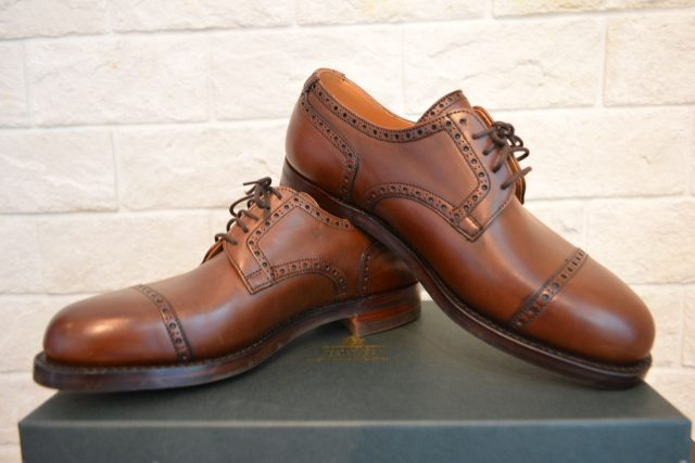 CROCKETT&JONES GRAZ BROWN