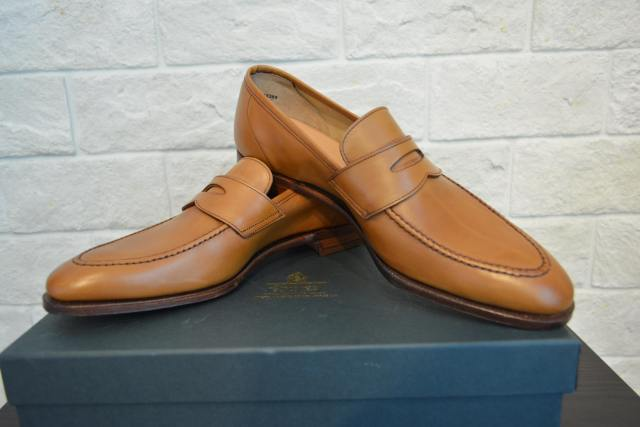 CROCKETT&JONES LOAFER BROWN