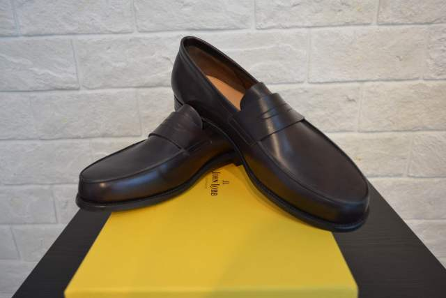 JOHN LOBB FINEDON DARK BROWN MUSEUM