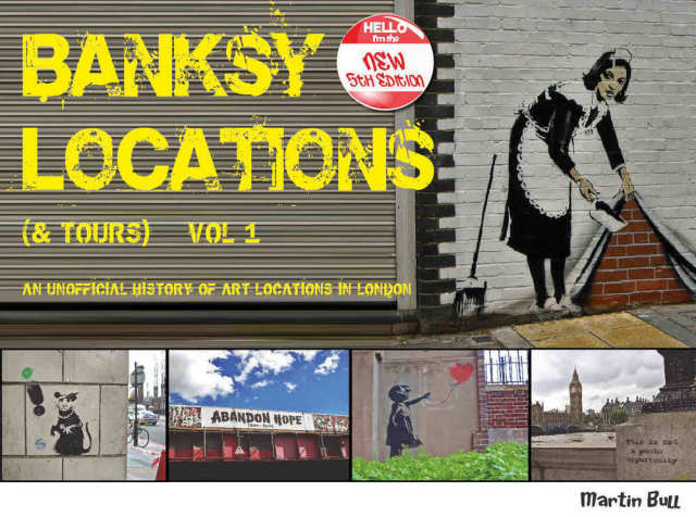 BANKSY LOCATIONS (& TOURS) VOL1-NEW5TH EDITION/バンクシー