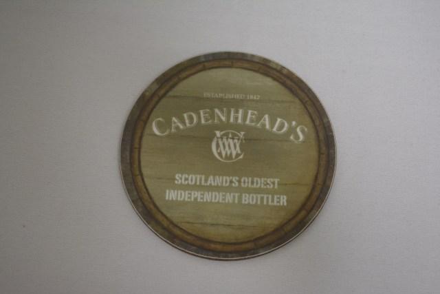CADENHEAD'S WHISKY COASTER ケイデンヘッズ ウイスキー コースター