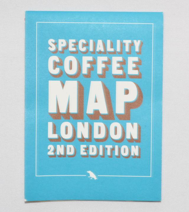 SPECIALITY COFFEE MAP LONDON 2ND EDITION/コーヒーマップ ロンドン セカンド エディション