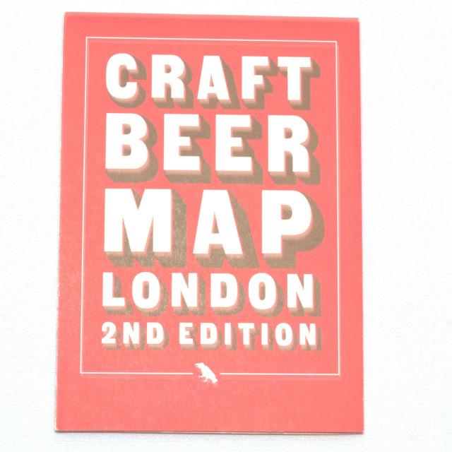 CRAFT BEER MAP LONDON 2ND EDITION/クラフトビールマップ ロンドン セカンドエディション