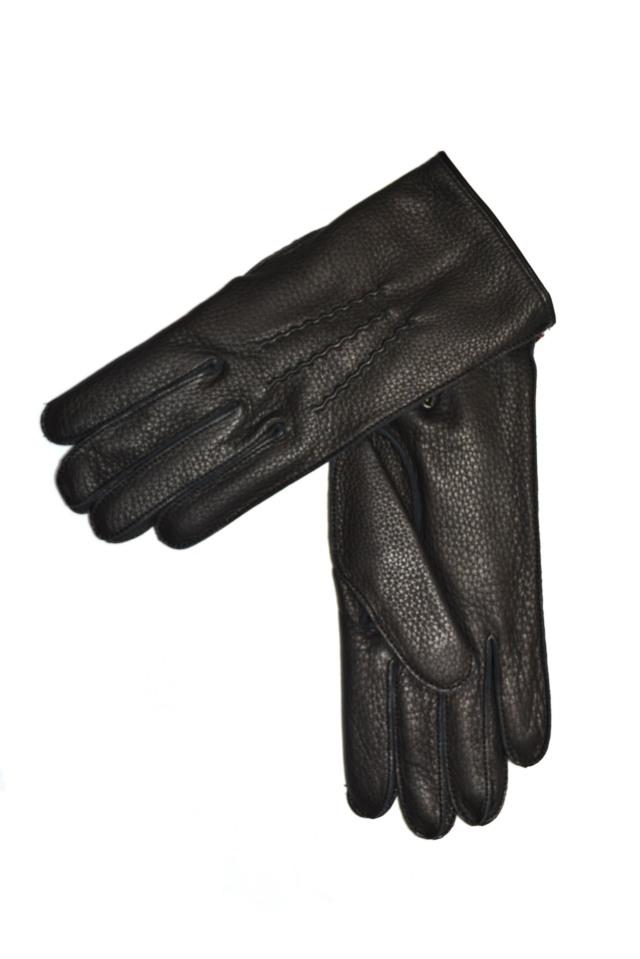 デンツ 手袋 メンズ ディアスキン ブラック