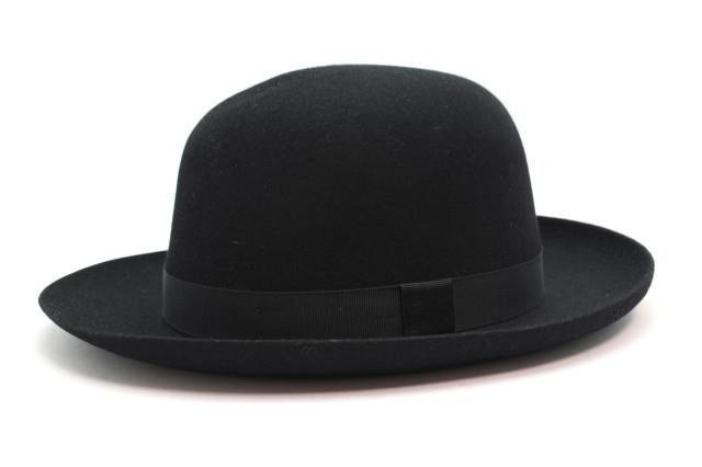 CHRISTYS' LONDON FAR FOLDAWAY HAT BLACK / クリスティーズ ロンドン フォルダウェイ ハット ブラック