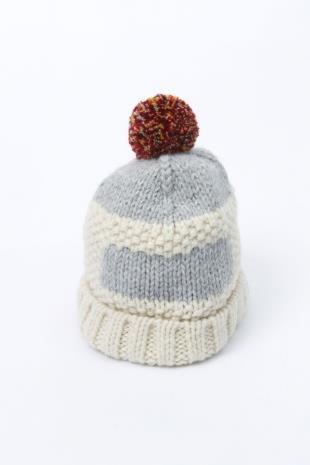 Folk フォーク ホワイト ニットキャップ Ruck Hat Ecru
