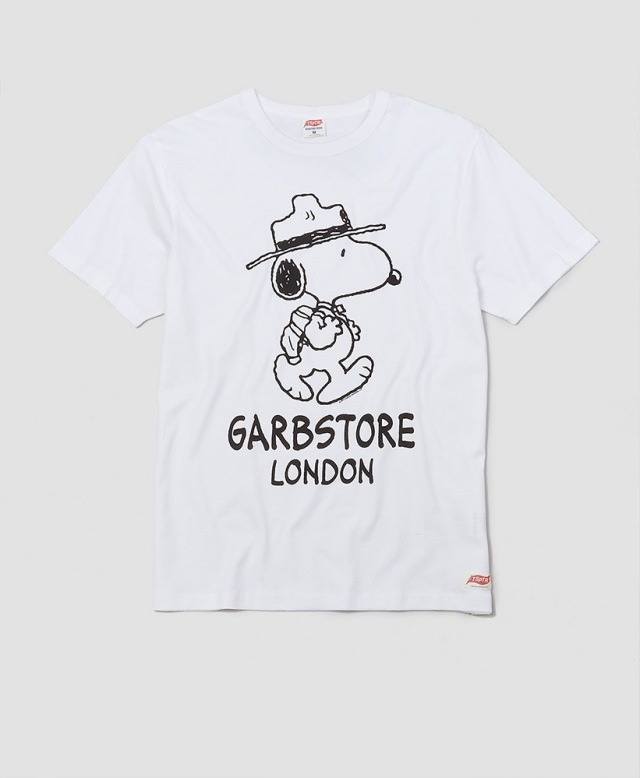 GARBSTORE× TSPTR SNOOPY RANGER TーSHIRT WHITE