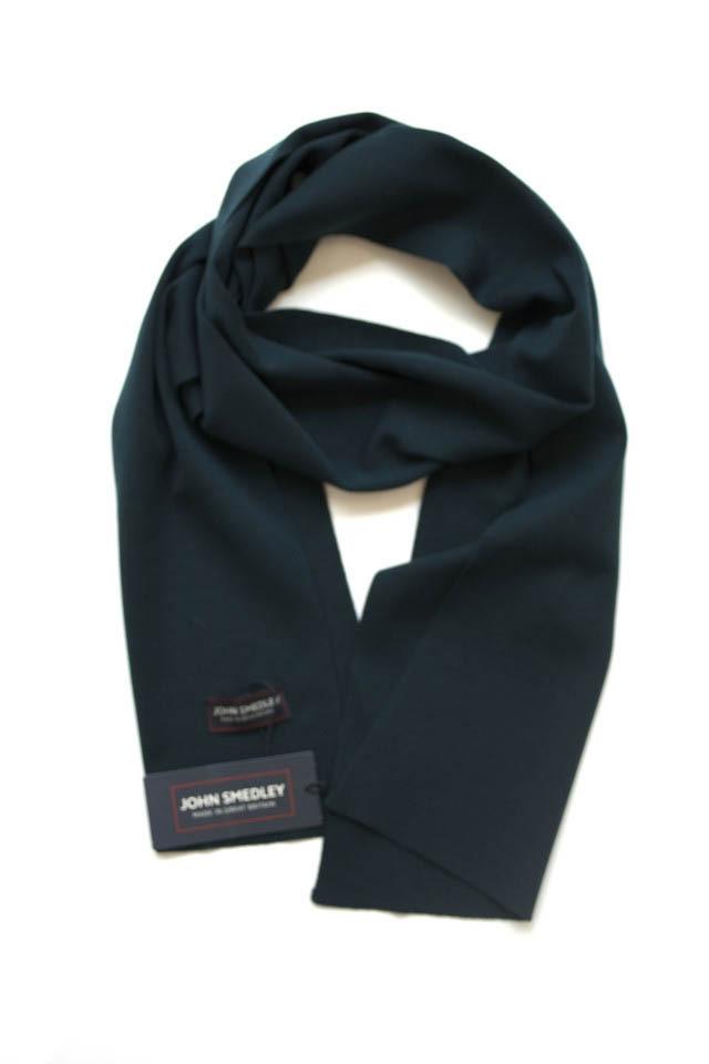 John Smedley Wool Knit Muffler/Scarf Forest Green ジョンスメドレー ウール マフラー フォレストグリーン