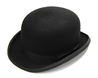 JAMES LOCK ジェームスロック 帽子 ボーラー ハット ブラック TRADITIONAL BOWLER HAT TOWN COKE