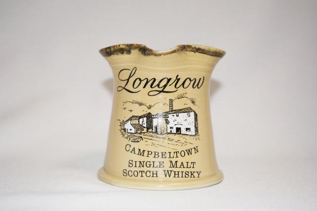 LONGROW CAMPBELTOWN WHISKY MUG ロングロウ キャンベルタウン ウイスキー 陶製 水差し