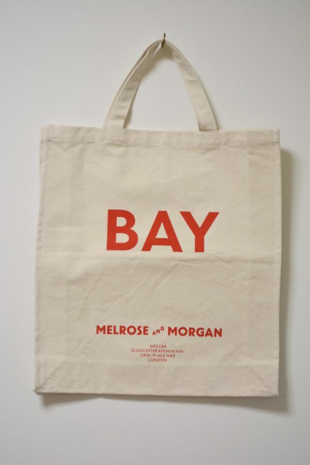 """MELROSE AND MORGAN TOTE BAG """" BAY """" メルローズ アンド モーガン トートバッグ"""