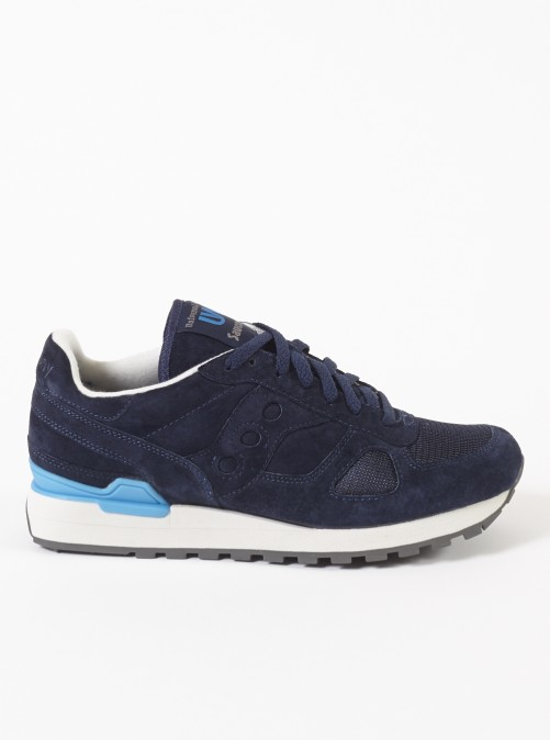 ユニバーサルワークス サッカニー シャドーオリジナル / UNIVERSAL WORKS SAUCONY SHADOW ORIGINAL IN NAVY SUEDE