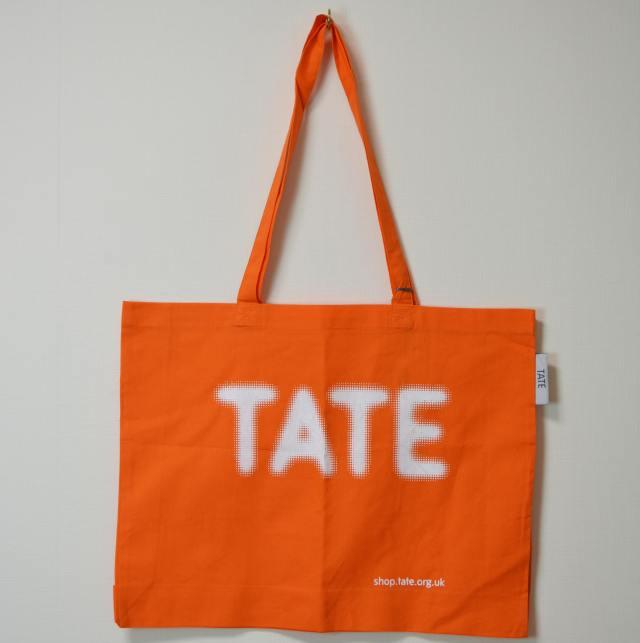 TATE TOTE BAG WATER ORANGE/テート(テイト) トートバッグ オレンジ