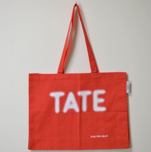 TATE TOTE BAG RED/テート(テイト) トートバッグ レッド