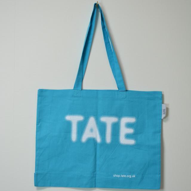 TATE TOTE BAG WATER BLUE/テート(テイト) トートバッグ ブルー