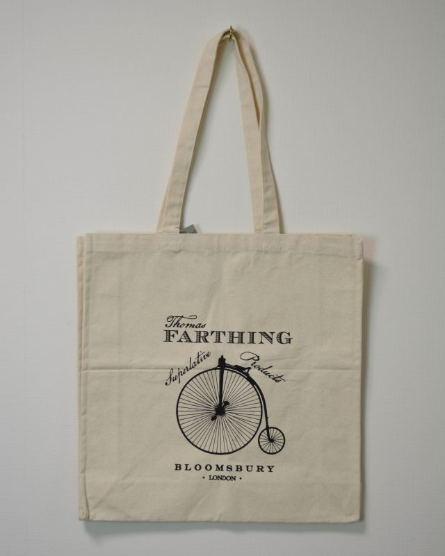 THOMAS FARTHING TOTE BAG