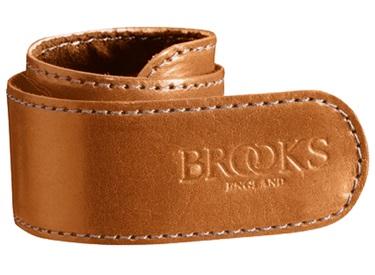 BROOKS ENGLAND TROUSER  STRAP  LIGHT BROWN/ブルックス イングランド トラウザーストラップ ライトブラウン