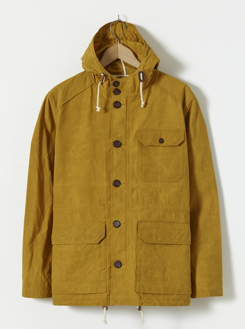 ユニバーサルワークス フィールドパーカー Universal Works Field Parka In Gold British Bushwax