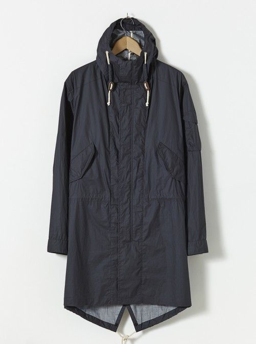 ユニバーサルワークス パーカー Universal Works Parka In Navy Olmetex Super Lt