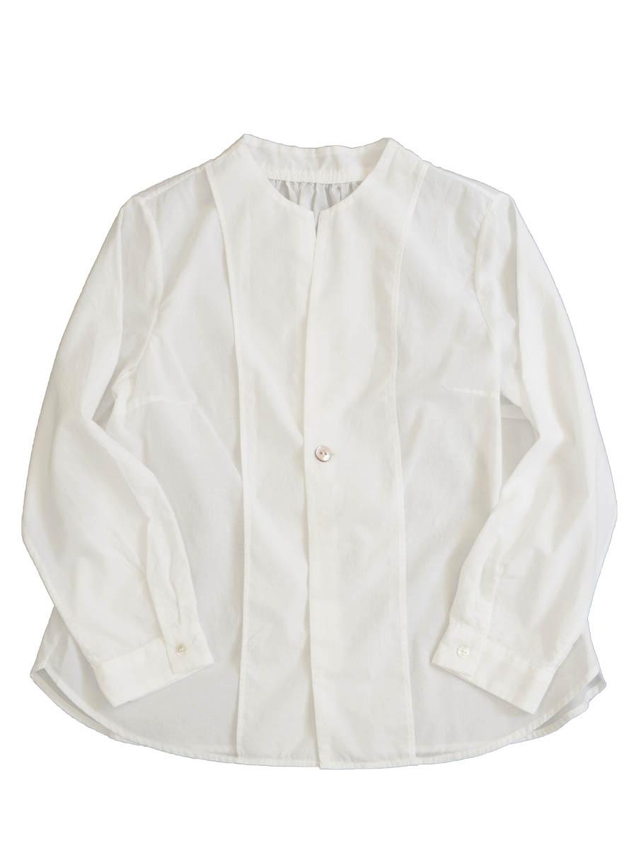 ローンボトル衿シャツ