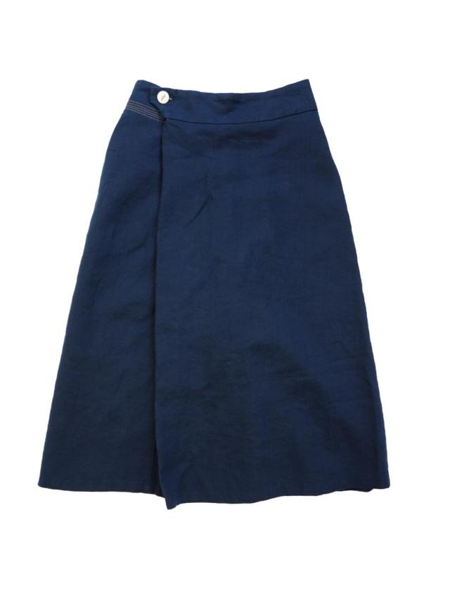 リネンラップ風スカート
