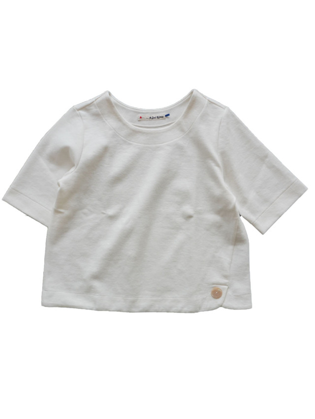 ストレッチポンチラウンド衿Tシャツ