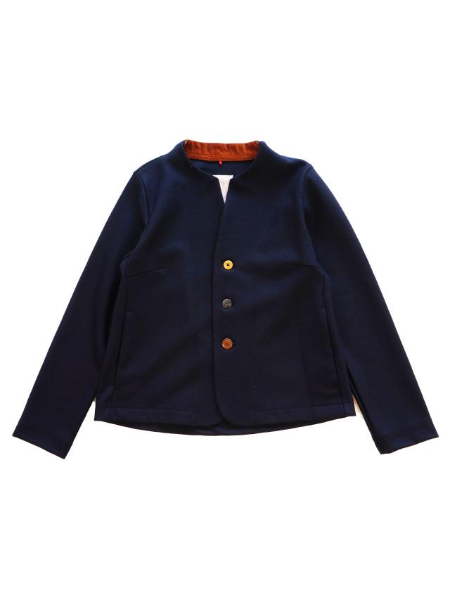 ウール圧縮スムースウィング衿ジャケット