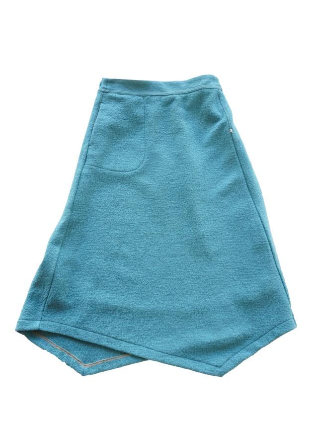 ウール圧縮天竺スカート