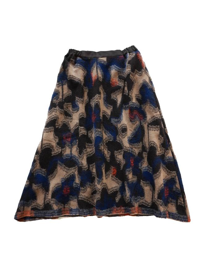 ウールカットジャガード雪起こし柄スカート