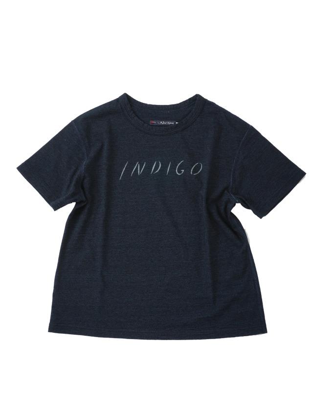 インディゴ天竺INDIGOtシャツ
