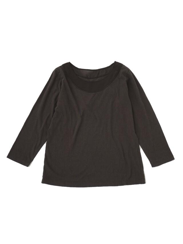 ラフィ天竺製品染7分袖Tシャツ