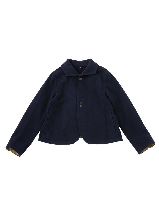 パウダーウールガーゼウィング襟ジャケット